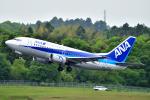 吉田高士さんが、成田国際空港で撮影したANAウイングス 737-54Kの航空フォト(写真)