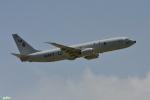 妄想竹さんが、嘉手納飛行場で撮影したアメリカ海軍 P-8A (737-8FV)の航空フォト(写真)
