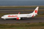 なごやんさんが、中部国際空港で撮影したマリンド・エア 737-8GPの航空フォト(写真)