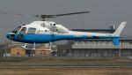 航空見聞録さんが、八尾空港で撮影した東邦航空 AS355F2 Ecureuil 2の航空フォト(写真)