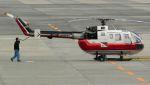 航空見聞録さんが、伊丹空港で撮影した読売新聞 Bo 105Sの航空フォト(写真)