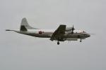 シュウさんが、厚木飛行場で撮影した海上自衛隊 UP-3Cの航空フォト(写真)