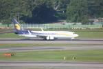 meijeanさんが、シンガポール・チャンギ国際空港で撮影したジェットエアウェイズ 737-85Rの航空フォト(写真)