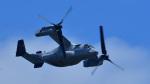 オキシドールさんが、岩国空港で撮影したアメリカ海兵隊 MV-22Bの航空フォト(写真)