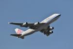 ジェットジャンボさんが、成田国際空港で撮影したチャイナエアライン 747-409の航空フォト(写真)