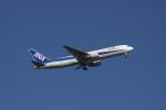 しかばねさんが、羽田空港で撮影した全日空 767-381/ERの航空フォト(写真)