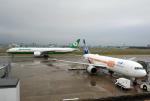 わかすぎさんが、小松空港で撮影したエバー航空 777-36N/ERの航空フォト(写真)