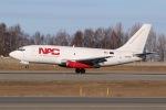 JRF spotterさんが、テッドスティーブンズ・アンカレッジ国際空港で撮影したノーザン・エア・カーゴ 737-232/Adv(F)の航空フォト(写真)