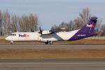 JRF spotterさんが、テッドスティーブンズ・アンカレッジ国際空港で撮影したフェデックス・エクスプレス ATR-72-212の航空フォト(写真)