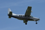 りゅうさんさんが、調布飛行場で撮影した朝日航空 208 Caravan Iの航空フォト(写真)