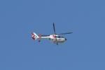 りゅうさんさんが、調布飛行場で撮影した中日本航空 EC135P1の航空フォト(写真)