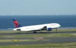 TKOさんが、羽田空港で撮影したデルタ航空 777の航空フォト(写真)
