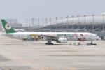 たっしーさんが、関西国際空港で撮影したエバー航空 777-35E/ERの航空フォト(写真)
