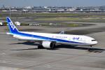 turenoアカクロさんが、羽田空港で撮影した全日空 777-381/ERの航空フォト(写真)