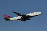 ジェットジャンボさんが、成田国際空港で撮影したデルタ航空 747-451の航空フォト(写真)
