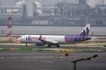 おかめさんが、羽田空港で撮影した香港エクスプレス A320-232の航空フォト(写真)
