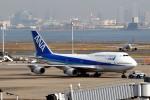banshee02さんが、羽田空港で撮影した全日空 747-481(D)の航空フォト(写真)