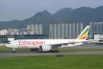 安芸あすかさんが、香港国際空港で撮影したエチオピア航空 777-F6Nの航空フォト(写真)