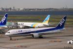 Jin Bergqiさんが、羽田空港で撮影した全日空 767-381/ERの航空フォト(写真)