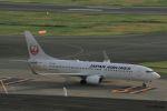 Jin Bergqiさんが、羽田空港で撮影した日本航空 737-846の航空フォト(写真)