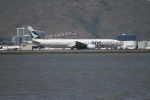 職業旅人さんが、サンフランシスコ国際空港で撮影したキャセイパシフィック航空 777-367/ERの航空フォト(写真)