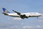 JA882Aさんが、成田国際空港で撮影したユナイテッド航空 747-422の航空フォト(写真)