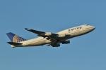 ジェットジャンボさんが、成田国際空港で撮影したユナイテッド航空 747-422の航空フォト(写真)