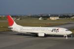 小牛田薫さんが、宮古空港で撮影した日本トランスオーシャン航空 737-4Q3の航空フォト(写真)