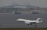 トリトンブルーSHIROさんが、羽田空港で撮影したウェルズ・ファーゴ・バンク・ノースウェスト G-V-SP Gulfstream G550の航空フォト(写真)