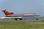 Gambardierさんが、名古屋飛行場で撮影したノースウエスト航空 727-2M7/Advの航空フォト(写真)