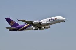sonnyさんが、成田国際空港で撮影したタイ国際航空 A380-841の航空フォト(写真)