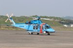 ショウさんが、鹿屋航空基地で撮影した鹿児島県警察 AW139の航空フォト(写真)