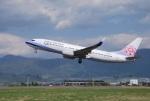 おぶりがーどさんが、松本空港で撮影したチャイナエアライン 737-8ALの航空フォト(写真)