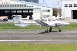 ショウさんが、八尾空港で撮影した日本個人所有 DA42 TwinStarの航空フォト(写真)