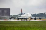 Orcaさんが、成田国際空港で撮影したデルタ航空 747-451の航空フォト(写真)