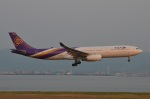 amagoさんが、関西国際空港で撮影したタイ国際航空 A330-343Xの航空フォト(写真)
