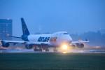 Orcaさんが、成田国際空港で撮影したアトラス航空 747-47UF/SCDの航空フォト(写真)