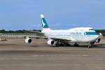 Orcaさんが、成田国際空港で撮影したキャセイパシフィック航空 747-467の航空フォト(写真)