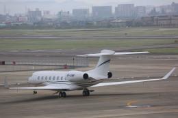 meijeanさんが、名古屋飛行場で撮影したPrivate G-IV Gulfstream IVの航空フォト(写真)