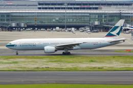 PASSENGERさんが、羽田空港で撮影したキャセイパシフィック航空 777-267の航空フォト(写真)