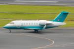 PASSENGERさんが、羽田空港で撮影したロンドン・エア・サービス CL-600-1A11 Challenger 600の航空フォト(写真)