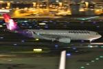 Wings Flapさんが、羽田空港で撮影したハワイアン航空 A330-243の航空フォト(写真)