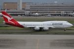 Wings Flapさんが、羽田空港で撮影したカンタス航空 747-438の航空フォト(写真)