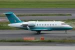 Wings Flapさんが、羽田空港で撮影したロンドン・エア・サービス CL-600-2B16 Challenger 604の航空フォト(写真)
