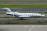 Wings Flapさんが、羽田空港で撮影したガルフストリーム・エアロスペース G-V-SP Gulfstream G550の航空フォト(写真)