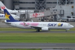 Wings Flapさんが、羽田空港で撮影したスカイマーク 737-86Nの航空フォト(写真)