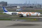 Wings Flapさんが、羽田空港で撮影した全日空 777-381/ERの航空フォト(写真)