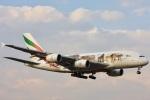 ゆうちゃん747さんが、成田国際空港で撮影したエミレーツ航空 A380-861の航空フォト(写真)