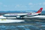 きゅうさんが、新千歳空港で撮影したトランスアジア航空 A330-343Xの航空フォト(写真)