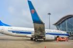 HISATAKUさんが、上海浦東国際空港で撮影した中国南方航空 737-83Nの航空フォト(写真)
